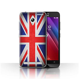 STUFF4 Case/Cover for Asus Zenfone Go ZC500TG / Great Britain/British Design / Flags Collection Mobile phones
