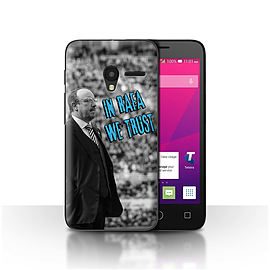 Newcastle United FC Case/Cover for Alcatel OneTouch Pixi 3 4.5/We Trust Design/NUFC Rafa Ben?tez Mobile phones