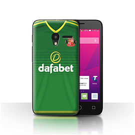 Official SAFC Case/Cover for Alcatel OneTouch Pixi 3 4.5/Footballer Design/SAFC Away Shirt/Kit 15/16 Mobile phones