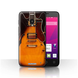 STUFF4 Case/Cover for Alcatel OneTouch Pixi 3 4.5 / Semi Acoustic Design / Guitar Collection Mobile phones