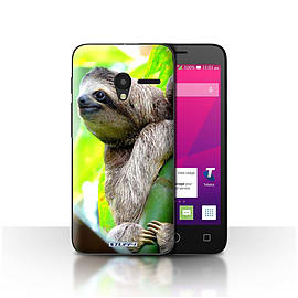 STUFF4 Case/Cover for Alcatel OneTouch Pixi 3 5 / Sloth Design / Wildlife Animals Collection Mobile phones