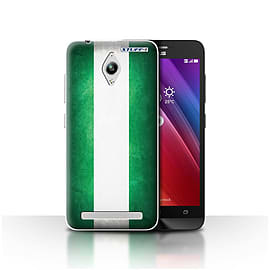 STUFF4 Case/Cover for Asus Zenfone Go ZC500TG / Nigeria/Nigerian Design / Flags Collection Mobile phones