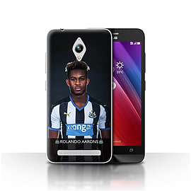 Newcastle United FC Case/Cover for Asus Zenfone Go ZC500TG/Aarons Design/NUFC Football Player 15/16 Mobile phones
