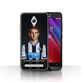 Newcastle United FC Case/Cover for Asus Zenfone Go ZC500TG/Colback Design/NUFC Football Player 15/16 Mobile phones