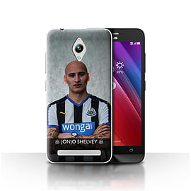 Newcastle United FC Case/Cover for Asus Zenfone Go ZC500TG/Shelvey Design/NUFC Football Player 15/16 Mobile phones