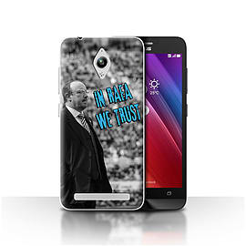 Newcastle United FC Case/Cover for Asus Zenfone Go ZC500TG/We Trust Design/NUFC Rafa Ben?tez Mobile phones