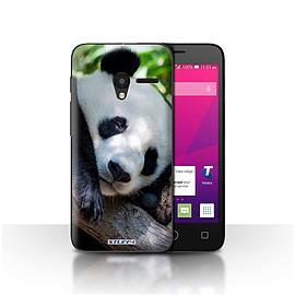 STUFF4 Case/Cover for Alcatel OneTouch Pixi 3 5 / Panda Bear Design / Wildlife Animals Collection Mobile phones