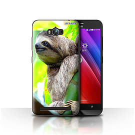 STUFF4 Case/Cover for Asus Zenfone Max ZC550KL / Sloth Design / Wildlife Animals Collection Mobile phones