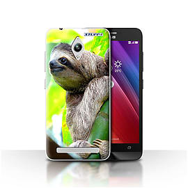 STUFF4 Case/Cover for Asus Zenfone Go ZC500TG / Sloth Design / Wildlife Animals Collection Mobile phones