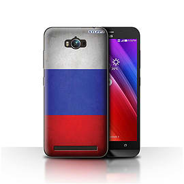 STUFF4 Case/Cover for Asus Zenfone Max ZC550KL / Russia/Russian Design / Flags Collection Mobile phones