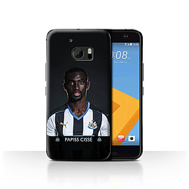 Newcastle United FC Case/Cover for HTC 10/One M10 (2016)/Ciss? Design/NUFC Football Player 15/16 Mobile phones