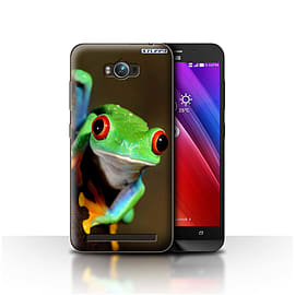 STUFF4 Case/Cover for Asus Zenfone Max ZC550KL / Frog Design / Wildlife Animals Collection Mobile phones