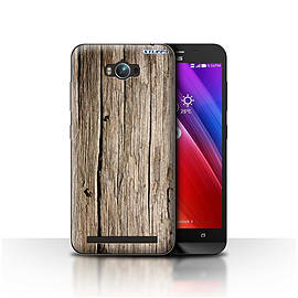 STUFF4 Case/Cover for Asus Zenfone Max ZC550KL/Driftwood Design/Wood Grain Effect/Pattern Mobile phones