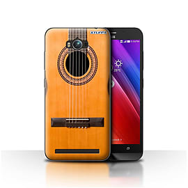 STUFF4 Case/Cover for Asus Zenfone Max ZC550KL / Wood/Wooden Acoustic Design / Guitar Collection Mobile phones