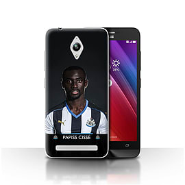 Newcastle United FC Case/Cover for Asus Zenfone Go ZC500TG/Ciss? Design/NUFC Football Player 15/16 Mobile phones