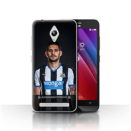 Official NUFC Case/Cover for Asus Zenfone Go ZC500TG/Mitrovic Design/NUFC Football Player 15/16 Mobile phones