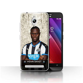 Newcastle United FC Case/Cover for Asus Zenfone Go ZC500TG/Saivet Design/NUFC Football Player 15/16 Mobile phones
