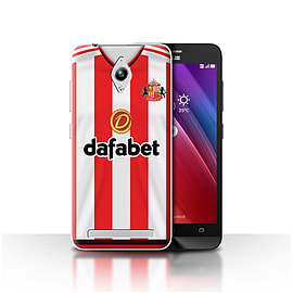 Sunderland AFC Case/Cover for Asus Zenfone Go ZC500TG/Footballer Design/SAFC Home Shirt/Kit 15/16 Mobile phones