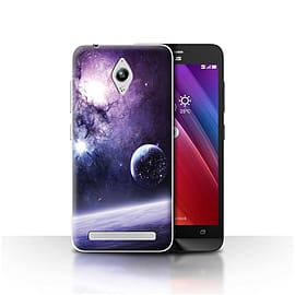 Official Chris Cold Case/Cover for Asus Zenfone Go ZC500TG/Planet/Moon Design/Alien World Cosmos Mobile phones
