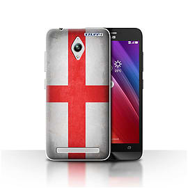 STUFF4 Case/Cover for Asus Zenfone Go ZC500TG / England/English Design / Flags Collection Mobile phones