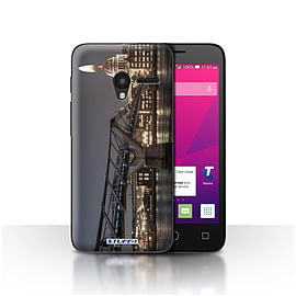 STUFF4 Case/Cover for Alcatel OneTouch Pixi 3 4 / London's Burning Design / Imagine It Collection Mobile phones