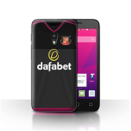 Official SAFC Case/Cover for Alcatel OneTouch Pixi 3 4.5/Goalkeeper Design/SAFC Away Shirt/Kit 15/16 Mobile phones