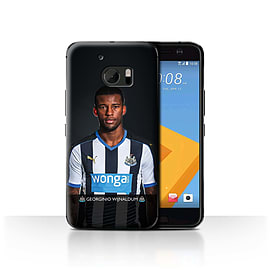 Newcastle United FC Case/Cover for HTC 10/One M10 (2016)/Wijnaldum Design/NUFC Football Player 15/16 Mobile phones