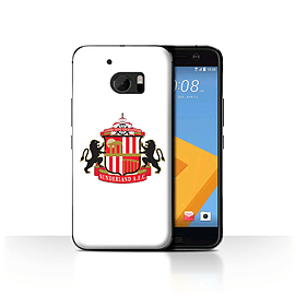 Official Sunderland AFC Case/Cover for HTC 10/One M10 (2016)/White Design/SAFC Football Club Crest Mobile phones