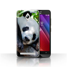 STUFF4 Case/Cover for Asus Zenfone Go ZC500TG / Panda Bear Design / Wildlife Animals Collection Mobile phones