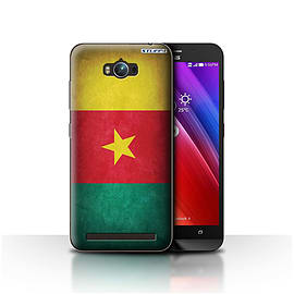 STUFF4 Case/Cover for Asus Zenfone Max ZC550KL / Cameroon/Cameroonian Design / Flags Collection Mobile phones