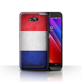 STUFF4 Case/Cover for Asus Zenfone Max ZC550KL / France/French Design / Flags Collection Mobile phones