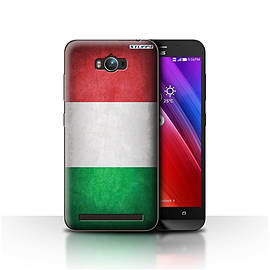 STUFF4 Case/Cover for Asus Zenfone Max ZC550KL / Italy/Italian Design / Flags Collection Mobile phones