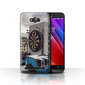 STUFF4 Case/Cover for Asus Zenfone Max ZC550KL / Bullseye Design / Imagine It Collection Mobile phones