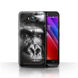 STUFF4 Case/Cover for Asus Zenfone Max ZC550KL / Gorilla/Monkey Design / Wildlife Animals Collection Mobile phones