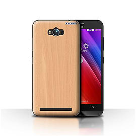 STUFF4 Case/Cover for Asus Zenfone Max ZC550KL / Beech Design / Wood Grain Effect/Pattern Collection Mobile phones