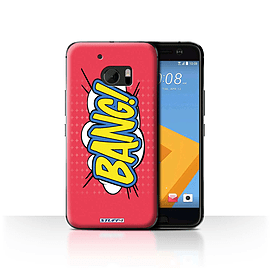 STUFF4 Case/Cover for HTC 10/One M10 (2016) / Bang! Design / Comics/Cartoon Words Collection Mobile phones