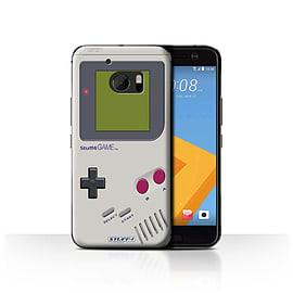 STUFF4 Case/Cover for HTC 10/One M10 (2016) / Nintendo Game Boy Design / Games Console Collection Mobile phones