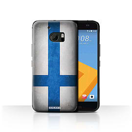 STUFF4 Case/Cover for HTC 10/One M10 (2016) / Finland/Finnish Design / Flags Collection Mobile phones