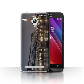 STUFF4 Case/Cover for Asus Zenfone Go ZC500TG / London's Burning Design / Imagine It Collection Mobile phones