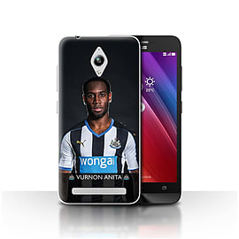 Newcastle United FC Case/Cover for Asus Zenfone Go ZC500TG/Anita Design/NUFC Football Player 15/16 Mobile phones
