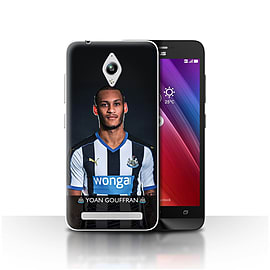 Official NUFC Case/Cover for Asus Zenfone Go ZC500TG/Gouffran Design/NUFC Football Player 15/16 Mobile phones
