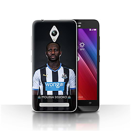 Newcastle United FC Case/Cover for Asus Zenfone Go ZC500TG/Sissoko Design/NUFC Football Player 15/16 Mobile phones