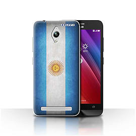 STUFF4 Case/Cover for Asus Zenfone Go ZC500TG / Argentina/Argentinean Design / Flags Collection Mobile phones