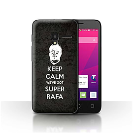 Newcastle United FC Case/Cover for Alcatel OneTouch Pixi 3 4/Keep Calm Design/NUFC Rafa Ben?tez Mobile phones