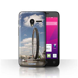 STUFF4 Case/Cover for Alcatel OneTouch Pixi 3 5 / London Eye Design / Imagine It Collection Mobile phones