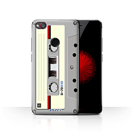 STUFF4 Case/Cover for ZTE Nubia Z11 Mini / Compact Cassette Tape Design / Retro Tech Collection Mobile phones