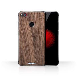 STUFF4 Case/Cover for ZTE Nubia Z11 Mini / Walnut Design / Wood Grain Effect/Pattern Collection Mobile phones