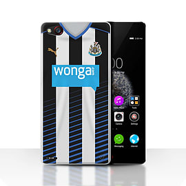 Official Newcastle United FC Case/Cover for ZTE Nubia Z9/Footballer Design/NUFC Home Shirt/Kit 15/16 Mobile phones
