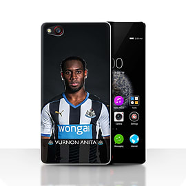 Official Newcastle United FC Case/Cover for ZTE Nubia Z9/Anita Design/NUFC Football Player 15/16 Mobile phones