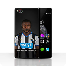 Official Newcastle United FC Case/Cover for ZTE Nubia Z9/Mbemba Design/NUFC Football Player 15/16 Mobile phones